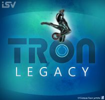 TRON: Legacy - FREE PSD by GermanIsaev