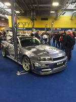 R34 GTR front by Car-lover33