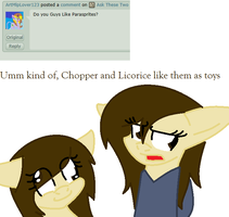 Ask These Two Weirdos #13 by nyan-cat-luver2000
