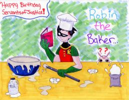 Robin The Baker by raven-of-shadows
