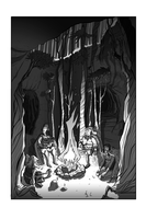 Forest Cave Concept Art by BrianDanielWolf