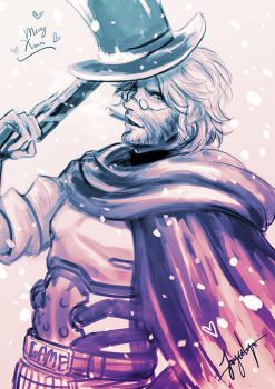 Mccree Xmas by TOYDREAMER