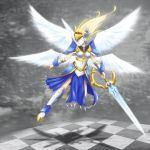 Chess: True White Queen by TakemaKei