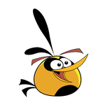 Angry Bird - Normal Orange Bird by life-as-a-coder