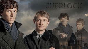 Sherlock Wallpaper by billie33gd