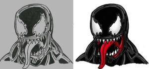 Venom Portrait by Killswitch-Chris