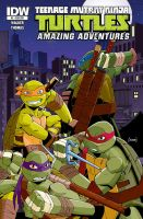 TMNT: Amazing Adventures #2 Variant Cover by RedCole84