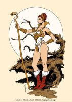 Teela: Warrior Goddess by ChrisEvenhuis