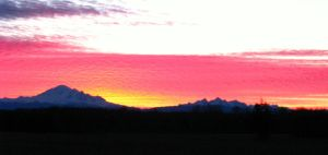 Mt Baker and the Three Sisters 22Feb2015-03 by SkyfireDragon