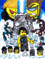 Lego Alpha Team: Mission Deep Freeze by SonicClone