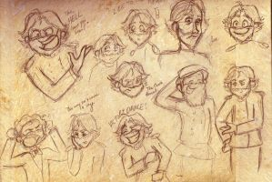 Civil War Doodlez by sunni-sideup