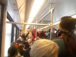 Packed Train 1 by themaskedcrusader