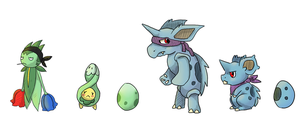 Manly Evolutions by Trinosaur