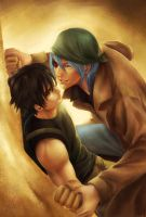 Malstrum and Demetri by Archie-The-RedCat