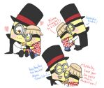 sweet fluffy Minion lovin's by FeralSonic