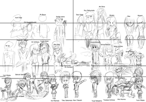 The Council - All in One~! names by MelKaven