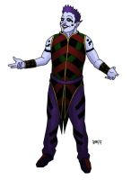 contra-auguste clown by MallonIllustration