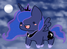 Princess Luna by iamawsum