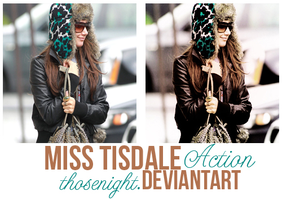 MISS TISDALE. by thosenight