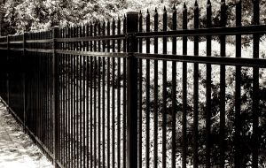 Victorian Styled Black Gate by Jordanart4peace