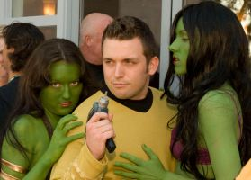 Orion Slave Girls and Kirk by megmurrderher