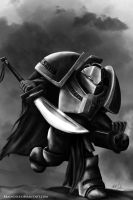 WH40k: Grey Knight Terminator by bRaiNdeeP