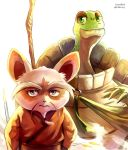 Shifu and Master Oogway by Vermeilbird