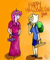 FionnaxGumball--HALLOWEEN2011 by ImMixyAndImBlue