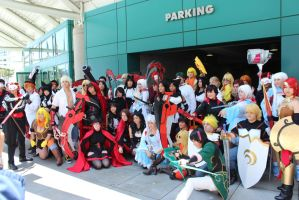 anime expo 2014  gathering 2 by antshadow13