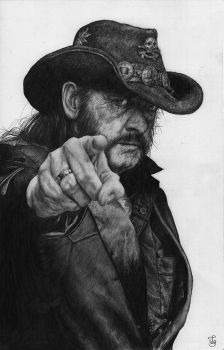 Lemmy Kilmister by Skippy-s