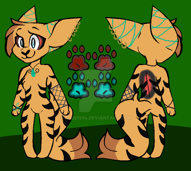 a friend wanted  a Fur, so i made one! by aloe1994