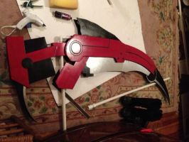 Scythe Progress Photo! by Sasha-Dee