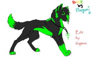 Toxic Wolf by Dugters