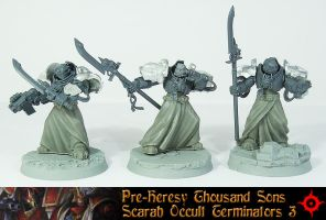 Scarab Occult Terminators UP 3 by Proiteus