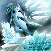 Colorisation Glaceon (contest) by Shingo-Hayasa