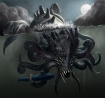 Kraken-Final by Davesrightmind