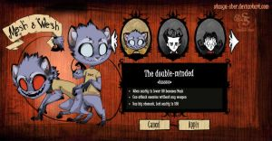 Don't Starve : Wesh and Mesh by Stasya-Sher