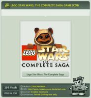 Lego Star Wars: The Complete Saga Icon by CODEONETEAM