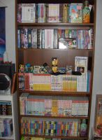 My Manga and Anime Collection by izaioi