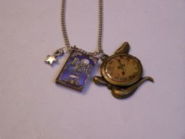 Peter Pan Inspired Necklace by setosora77