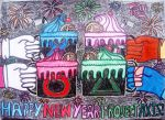 HAPPY NEW YEAR SUPER SMASH ALL-STAR HEROES by KambalPinoy