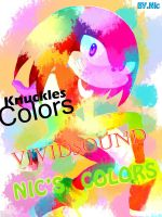 Knuckles colors by Nicccoo