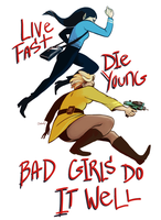 Bad Girls by teaofrage