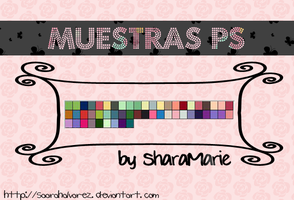 Muestras para PhotoShop by SaaRaHAlvarez