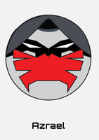 Azrael Round Face by jackbauer89