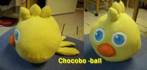 Chocobo -ball by Min-Son
