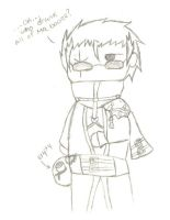 Chibi Auron:  Sketch by auron-fan-club