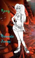 Osmosis Jones OC: Roxy WIP by Kisa-Hana-chan