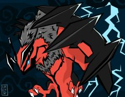 Yveltal by IronclawsAndPaws