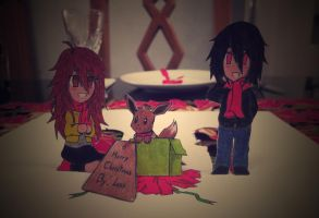 Merry Christmas 2014 By: Less by LessSanArt207